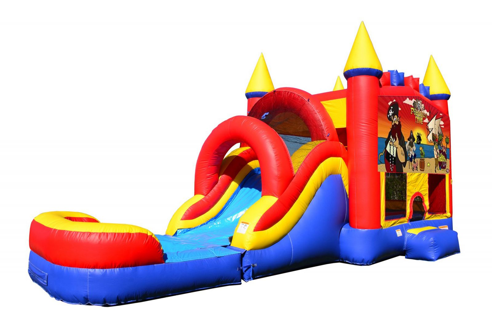 Pirate Bounce House With Water Slide And Pool