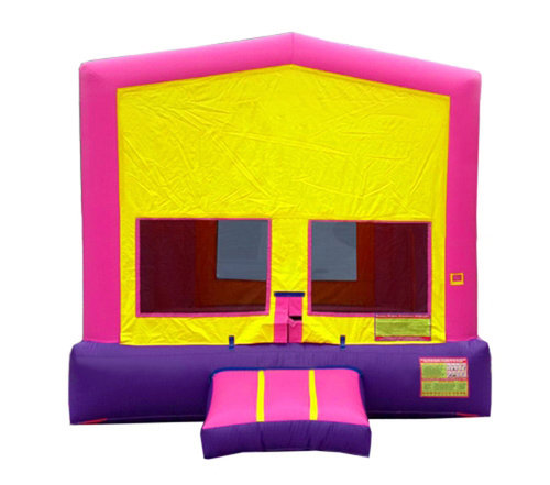Pink And Purple Premium Bounce House