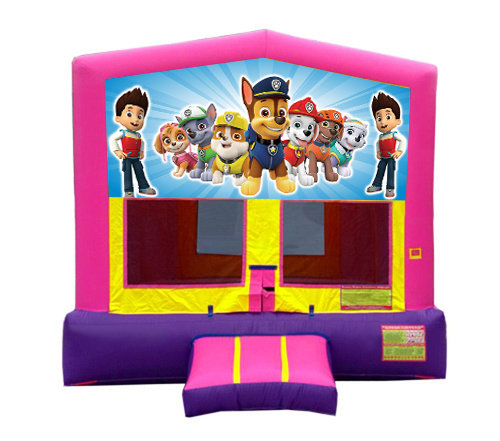 Pink And Purple Paw Patrol Premium Bounce House