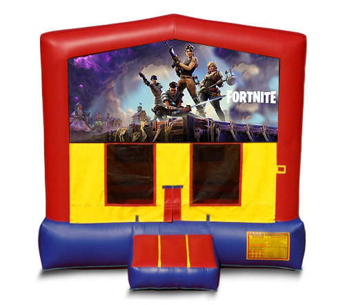 Blue And Red Fortnite Premium Bounce House