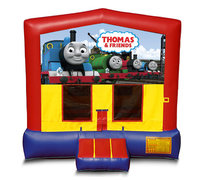 Blue And Red Thomas The Train Bounce House