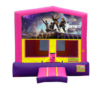 Pink And Purple Fortnite Premium Bounce House