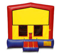 Blue And Red Premium Bounce House