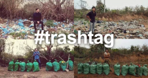 Viral #TrashTag Challenge Sweeps Communities Everywhere