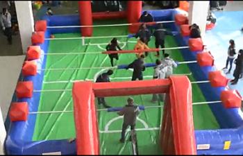 Human Foosball Game Rentals Merrillivlle Just4jumps Com