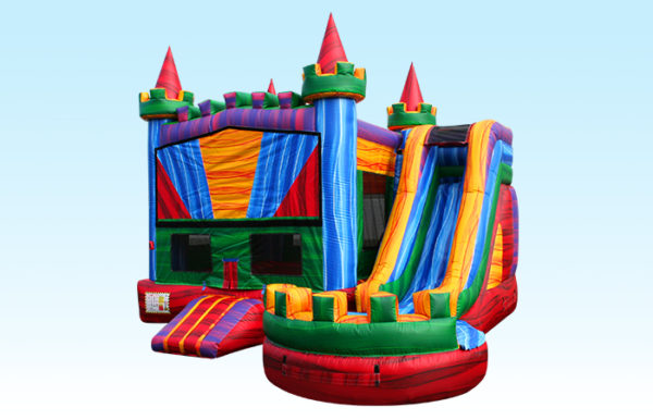 Colorful Bounce House Castle
