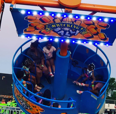 Wrecking Ball Carnival Ride