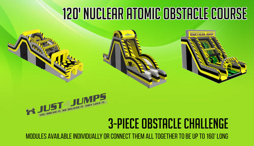 Nuclear Atomic Obstacle Course