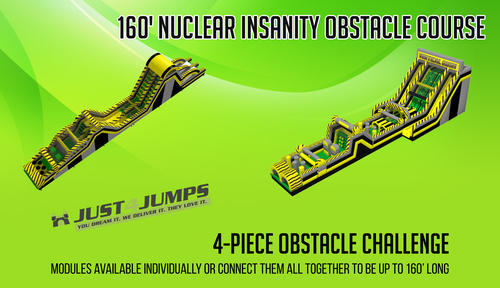 Nuclear Insanity Obstacle Course