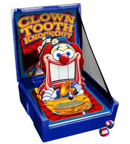 Carnival Clown Tooth Knockout