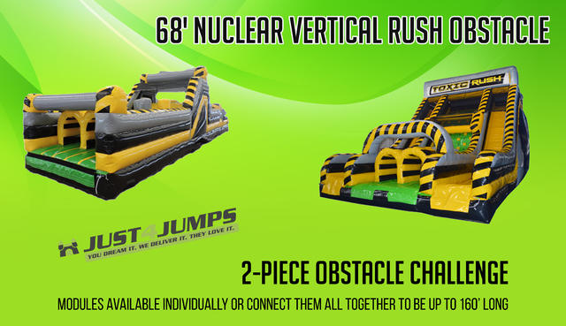 68' Nuclear Vertical Rush Obstacle