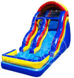 18Ft Wavy Water Slide