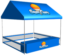 Sno Cone Concession Tent