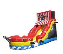 18Ft Pirate Ship Dry Slide
