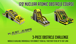 120' Nuclear Atomic Obstacle