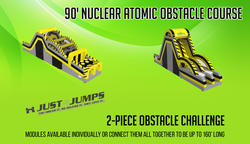 90' Nuclear Atomic Obstacle