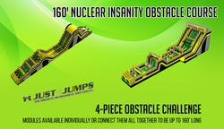 160' Nuclear Insanity Obstacle