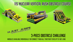 115' Nuclear Vertical Rush Obstacle