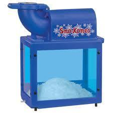 Sno Cones Machine with (50) servings