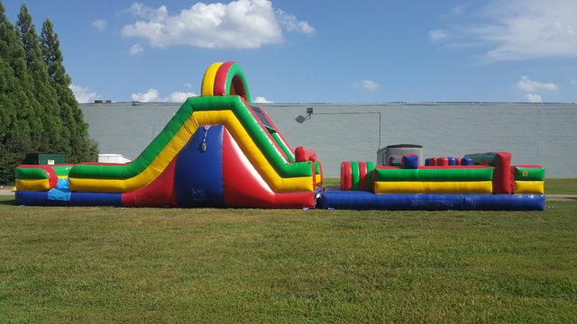 52ft obstacle course