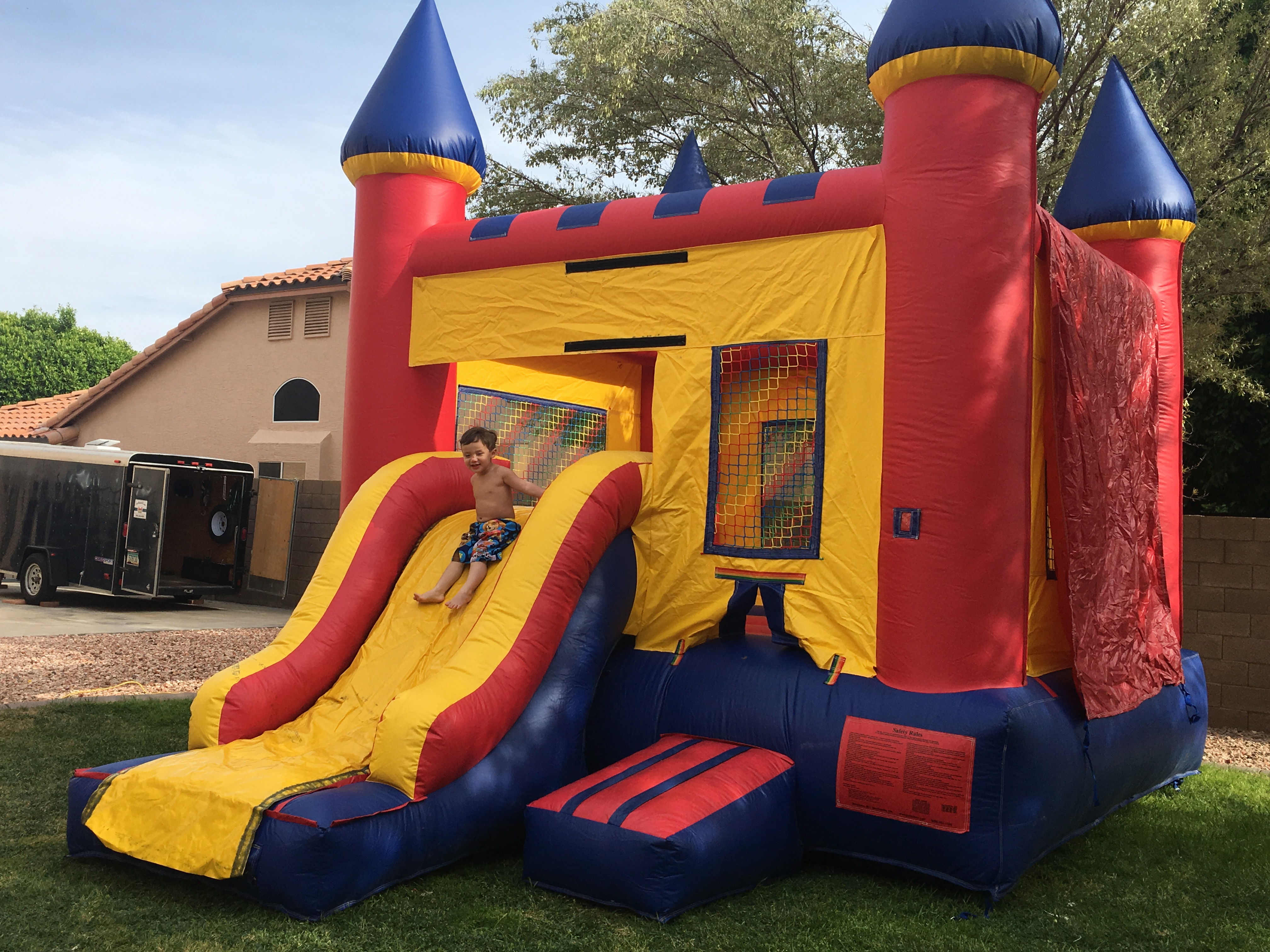 Just Bounce AZ Water slide bounce house inflatable party