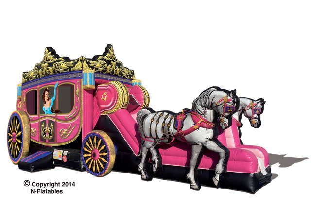 Princess Carriage Combo with Horses