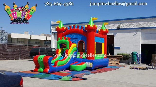 Magestic Castle with Slide