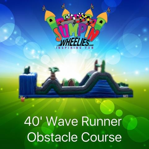 40' Wave Runner Obstacle Course