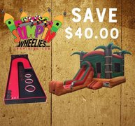 <b><font color=red> Save $40 <font/></b> BUILD YOUR OWN PACKAGE    Bounce House Combo & Any Game