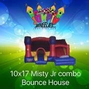 Misty Toddler Bouncer with WATER Slide