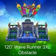 120' Wave Runner 3XL Obstacle