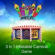 3 in 1 Inflatable Carnival Game