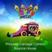 Princess Jumpie with Slide