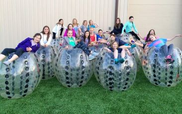 Knockerball Chicago kids party