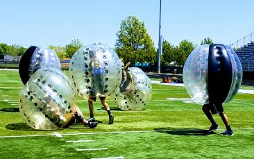 Knockerball at High school