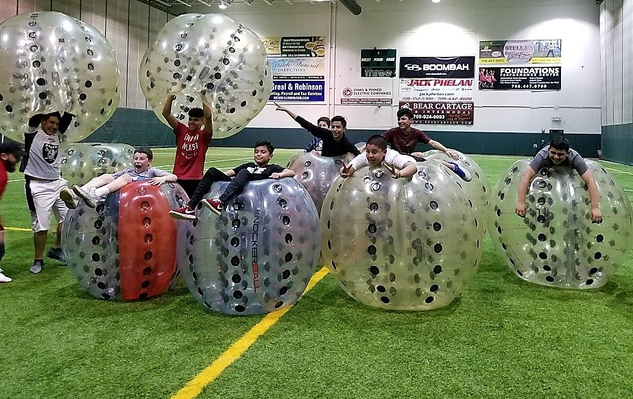 Knockerball Chicago Indoors on Turf
