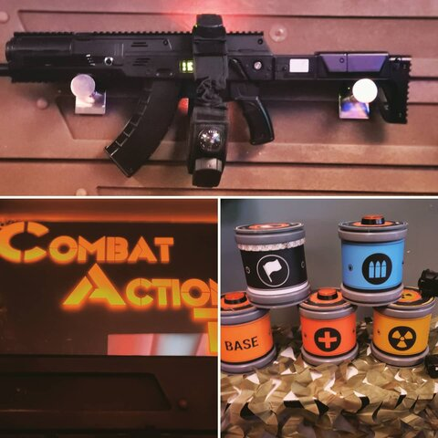 Combat Action Tag - Laser tag