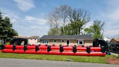 Inflatable Field Included With Some Event Packages