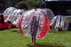 Saturday, Sunday up to 6 Knockerballs 90 minute Event Package, sizes vary, tax included, weekend special