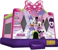 Minnie Mouse Bounce House Rentals
