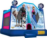 Frozen Bounce House Rental- Disney