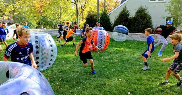 6 Knockerball Event Package