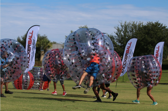 8 Knockerball Event Package