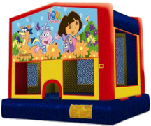 Dora The Explorer bouncer Sept  2019 Dates only