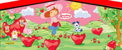 Mod Art Strawberry Shortcake