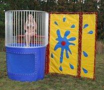 Dunk Tank Trailer Style-incl. 3 balls 6-30 to 7/6 events only