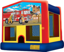 Fireman on a Mission Bounce House
