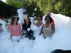 Foam dance Party 2 Hr. Daytime with Top 40 music.