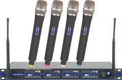 Wireless 4 Microphone system