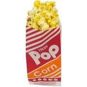 Popcorn Bag - set of 50